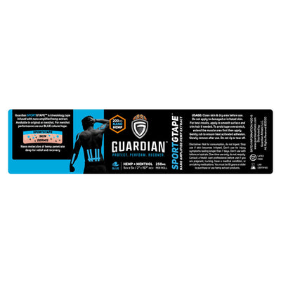 Guardian SportGTape Menthol Label