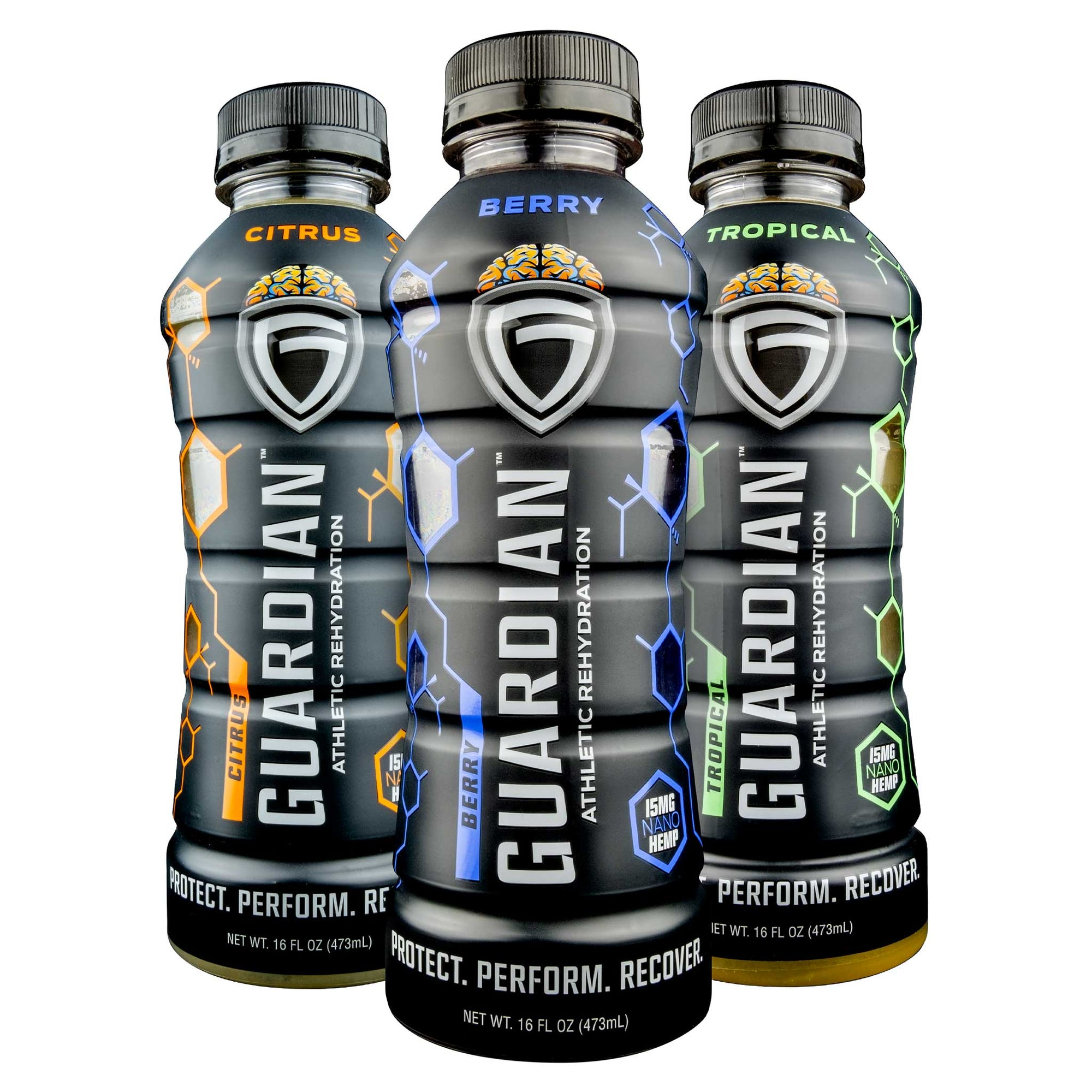 Guardian Athletic Rehydration Variety - 6 Pack