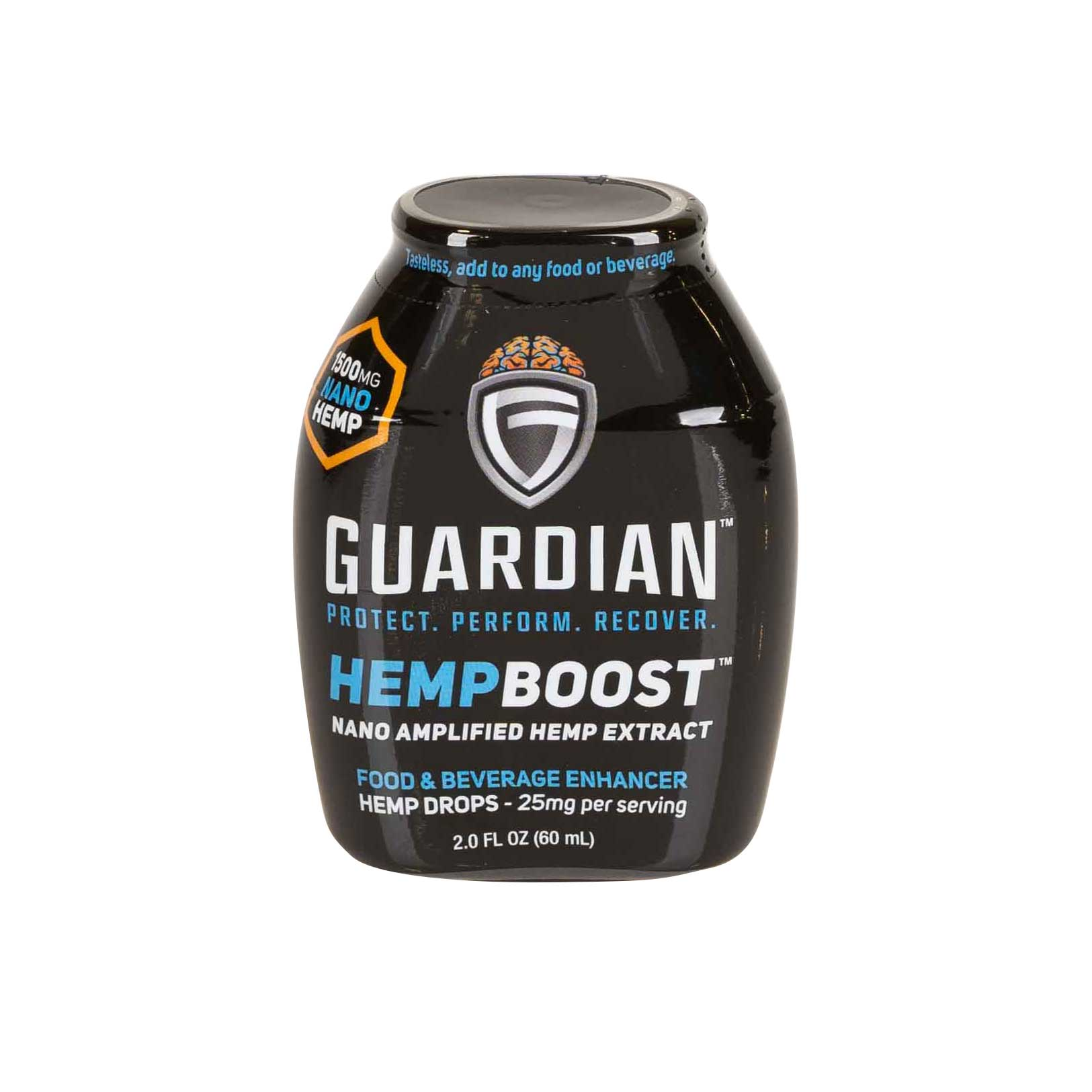Guardian Boost Sports Drops - Better Sleep and Improved Mood Front Label