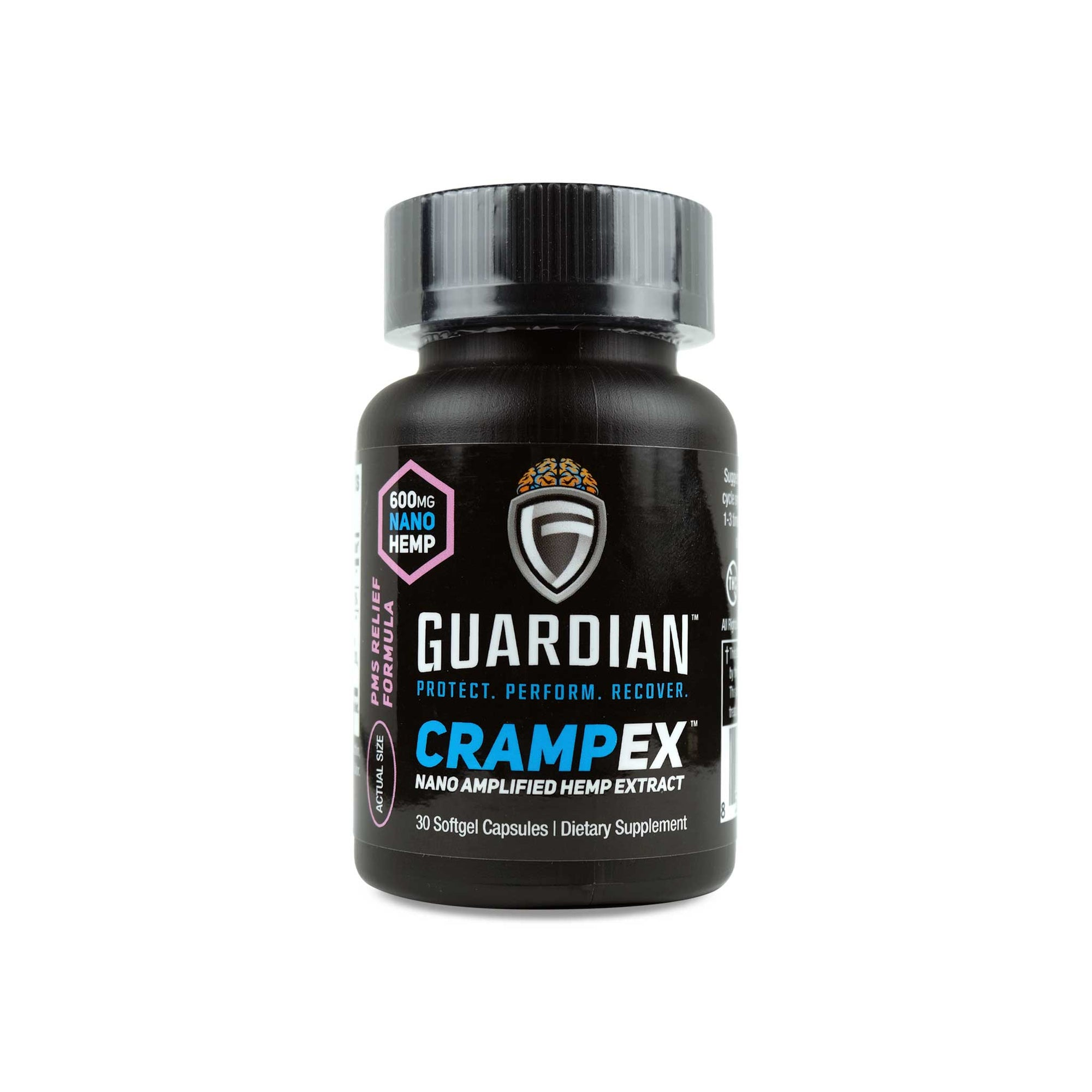 Guardian crampex front label
