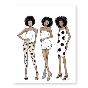 Black Woman Wall Art