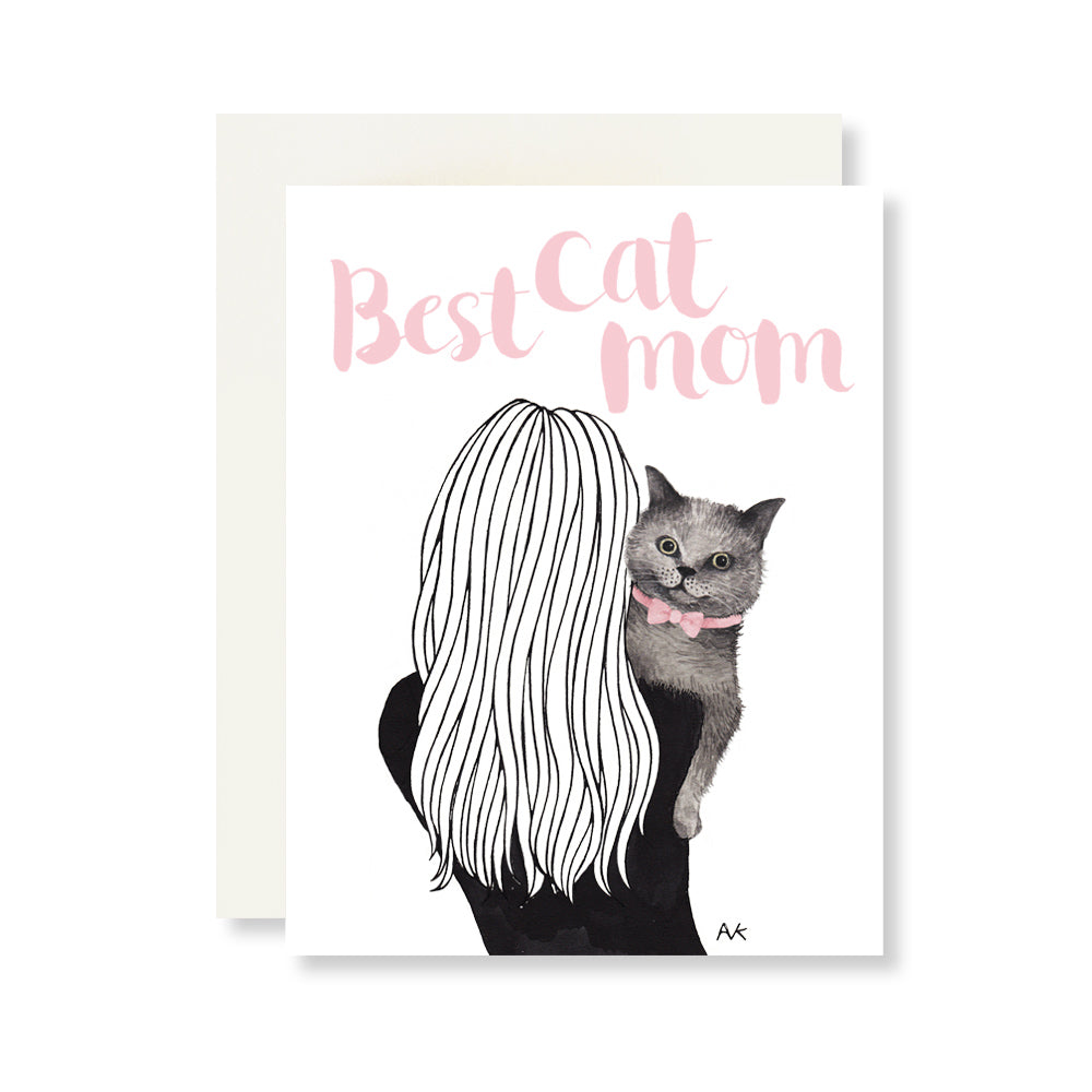 best cat mom card