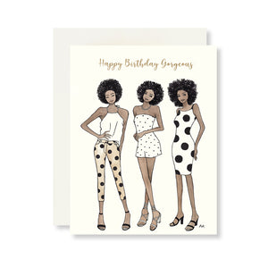 Black Woman Birthday Card