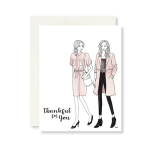 Thankfu for You Card : Kestan Collaboration