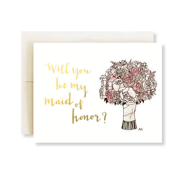 Bridesmaid Boxed Card Set