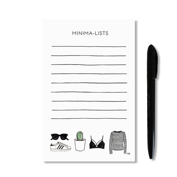 fashion illustration notepad