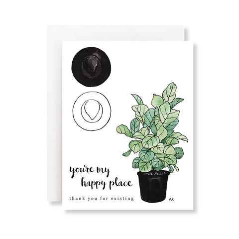 You're My Happy Place Card
