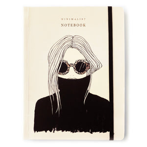 Leo Shade Girl Notebook