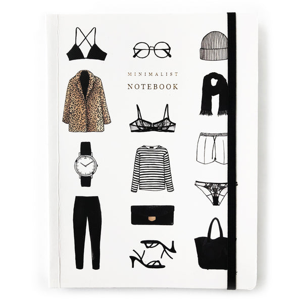 Minimal Items Notebook