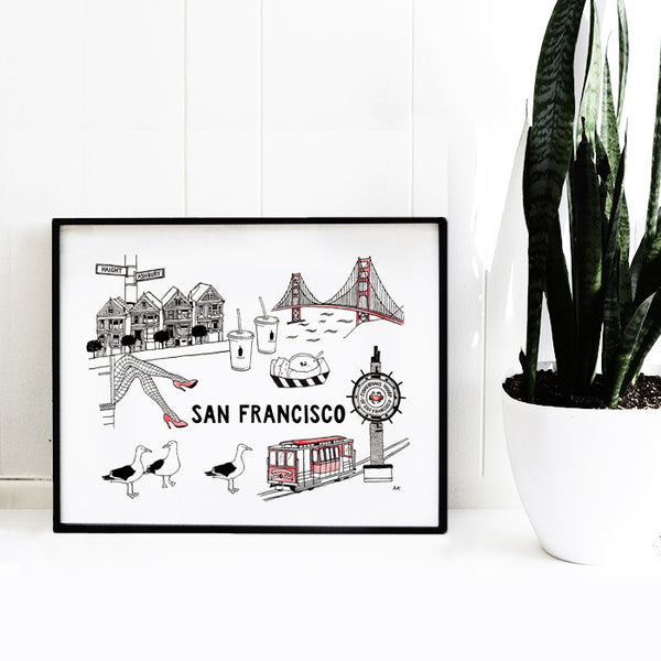 sf wall decor