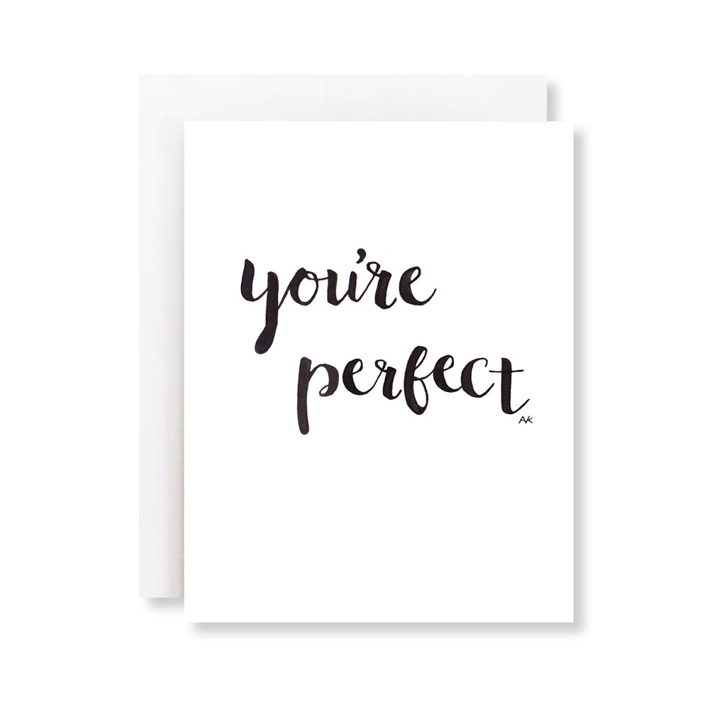 you're perfect card for him, husband, boyfriend