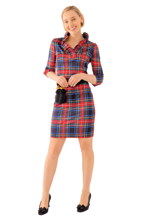 PLAID DUKE OF YORK DRESS
