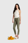 HONOR ARMY GREEN JEANS W/ STRIPE