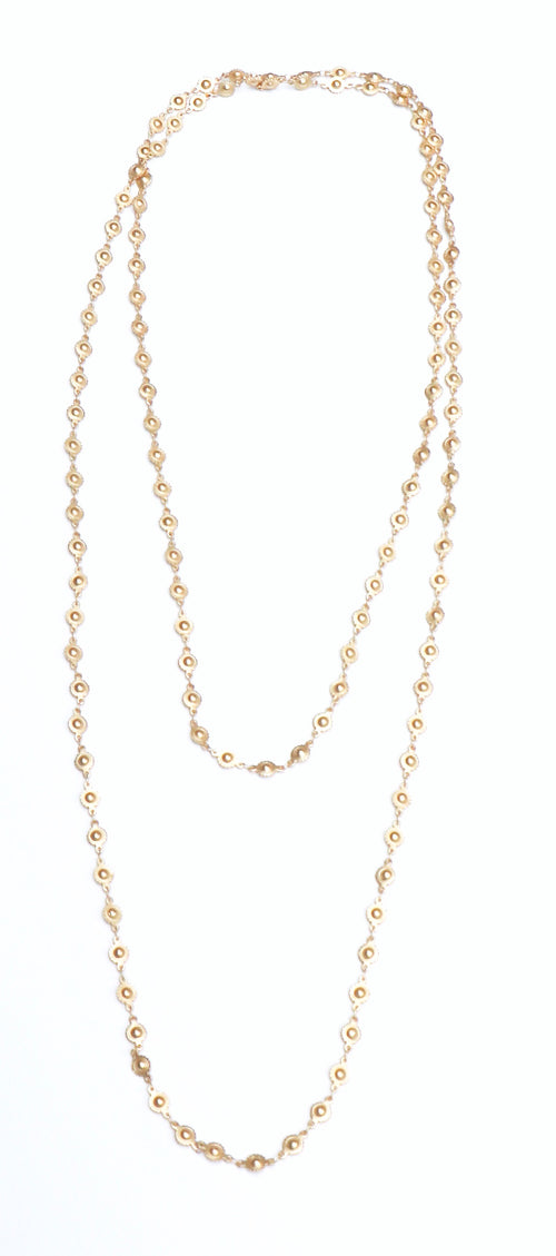 CATHERINE WRAP NECKLACE - GOLD