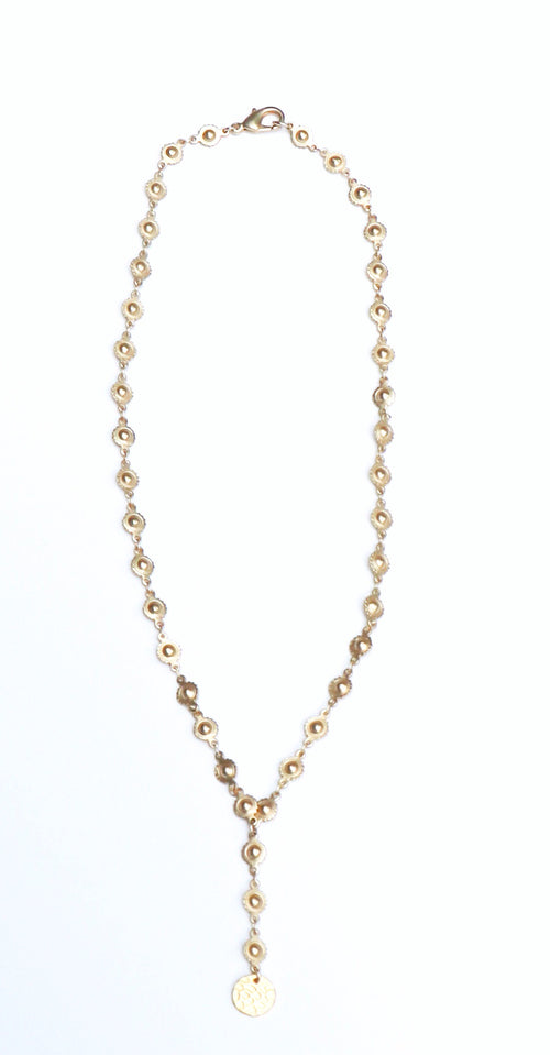 CATHERINE DROP NECKLACE - GOLD