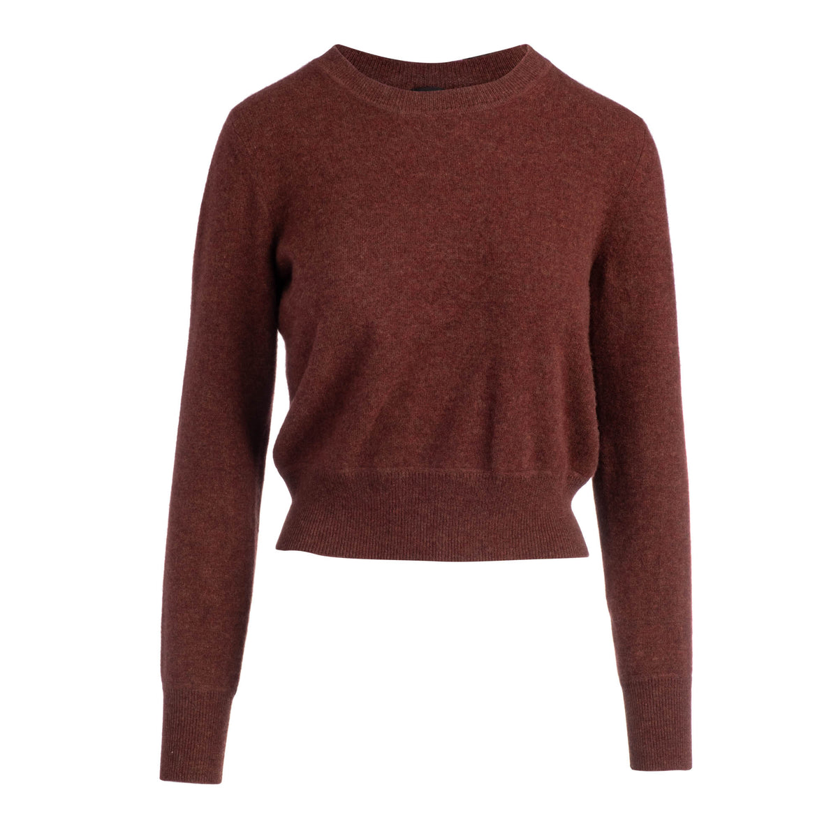 CROPPED CREW PULLOVER - AUTUMN