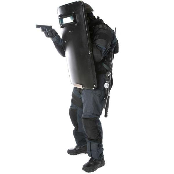 Ballistic shield carrier Hook - body-armour.com