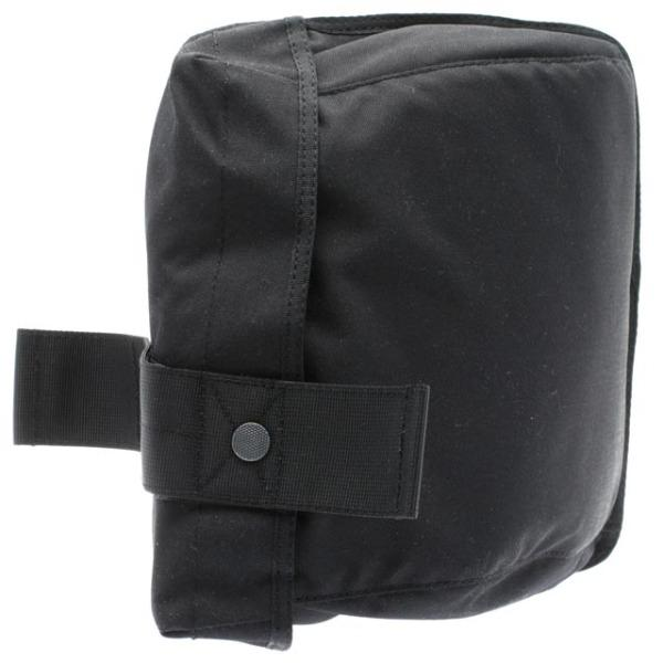 Black Gas Mask Cordura Nylon Tactical Bag - body-armour.com