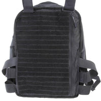Covert Tactical Bag with IIIA Protection Vest and Molle Tactical Vest - body-armour.com