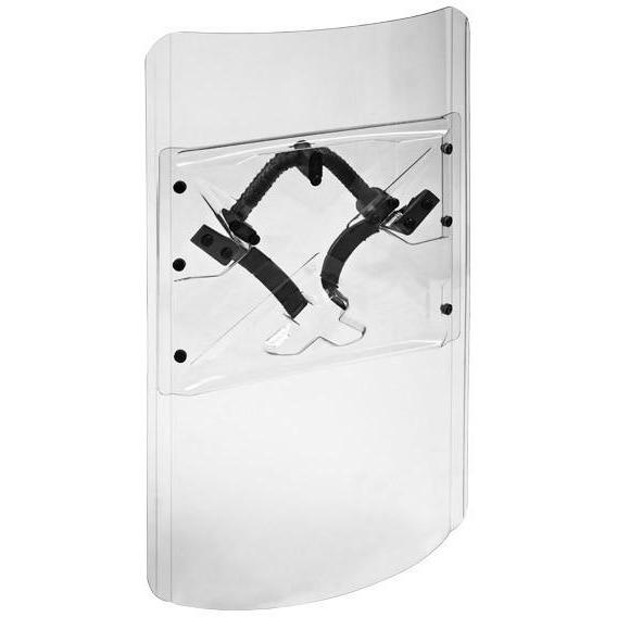 ESP Police U-shaped Riot Shield – Universal - 60x100 cm - body-armour.com