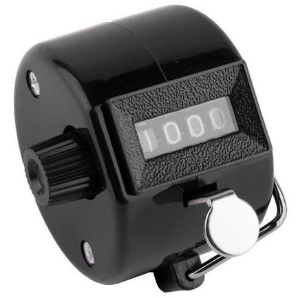Hand Tally Click Counter with 4 rows - body-armour.com