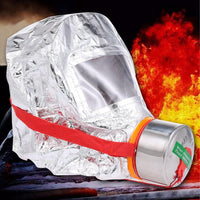Personal 60 minute Fire Escape Mask Respirator & Smoke Protective Face Cover, Fire Emergency Escape Hood - body-armour.com