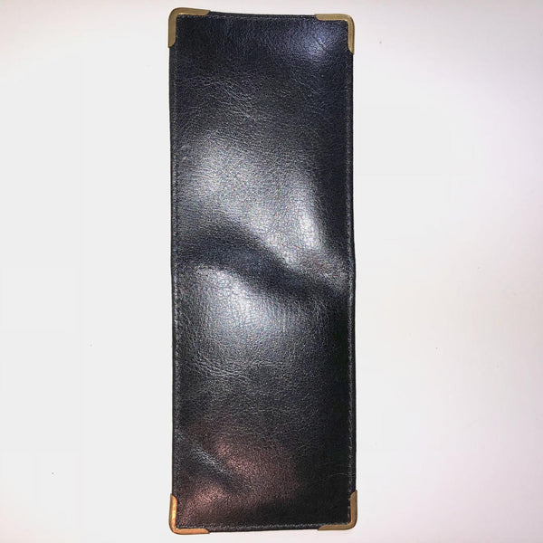 Police ID Badge & Credit Card Holder in Leather, Black - body-armour.com
