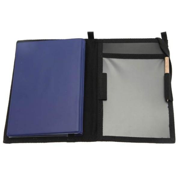 Police Notebook cover Black / Polisanteckningsfodral Svart - body-armour.com