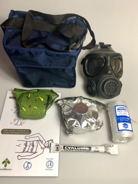 Rapid Protection CBRNE Anti-Terror Anti-Viral Rescue Kit with Chemical Protection - body-armour.com