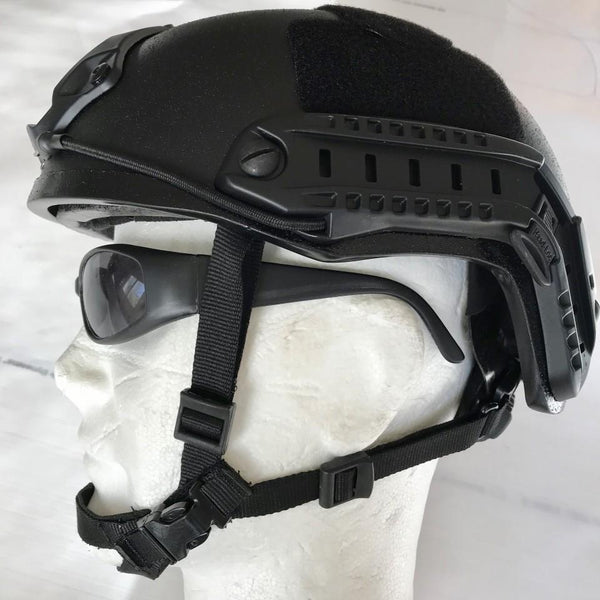 SBA FAST TRAINING Splinter Protection Helmet V50 250 m/s - body-armour.com