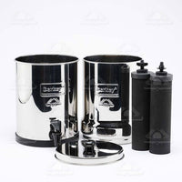 Travel Berkey® Water purifier 5.7 liter water storage (2pcs Black Berkey® filters included) - body-armour.com