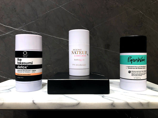 Your guide to a fast and happy detox with clean deodorant