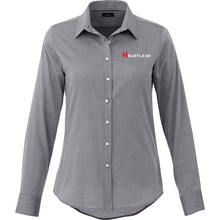 Ladies' Pierce Long Sleeve Shirt