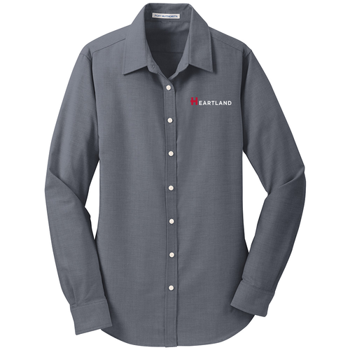Ladies' Port Authority SuperPro Oxford Shirt