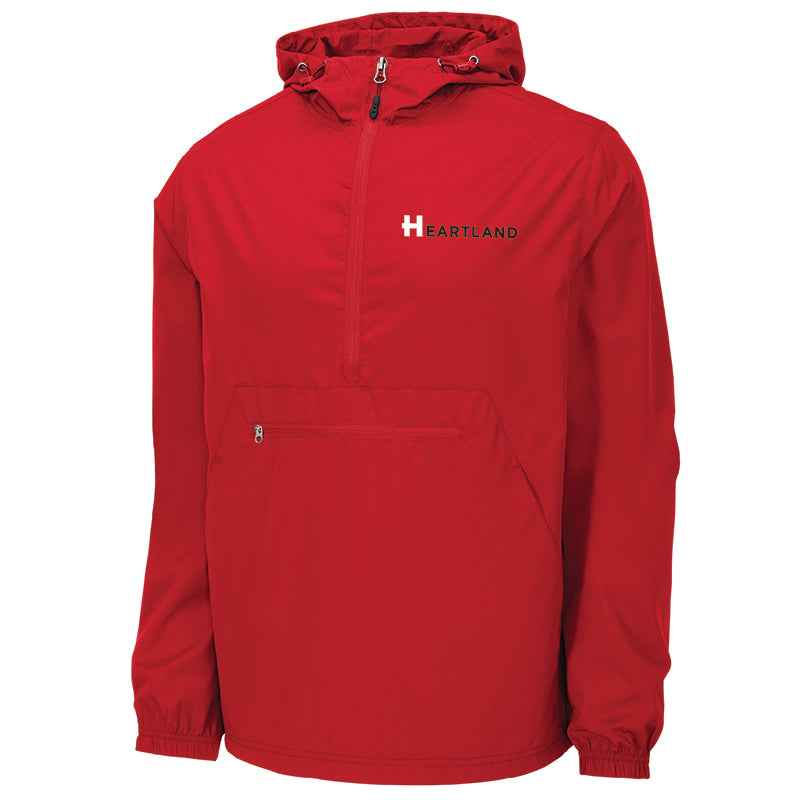 Sport-Tek Packable Anorak Rain Jacket