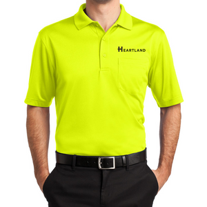 Safety Green Pocket Polo