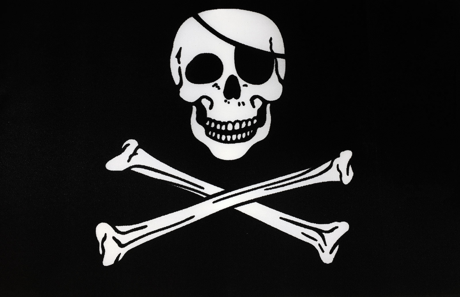 SKULL AND PIRATE FLAGS Size 5x3 Feet FISH PIRATE FLAG