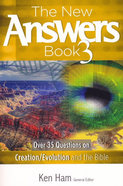 The New Answers Book Box Set Volumes 1-4