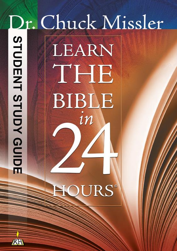 Learn the Bible in 24 Hours - Student Study Guide