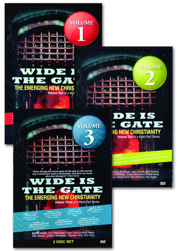 WIDE IS THE GATE TRIPLE (VOL 1-3) PACK