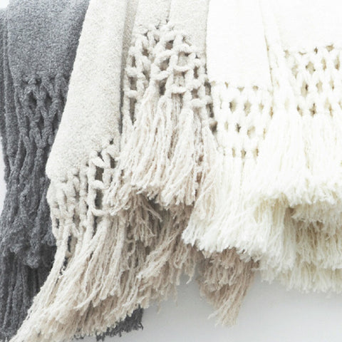 Sefte Living | Maya Boucle Throw | 100% Baby Alpaca