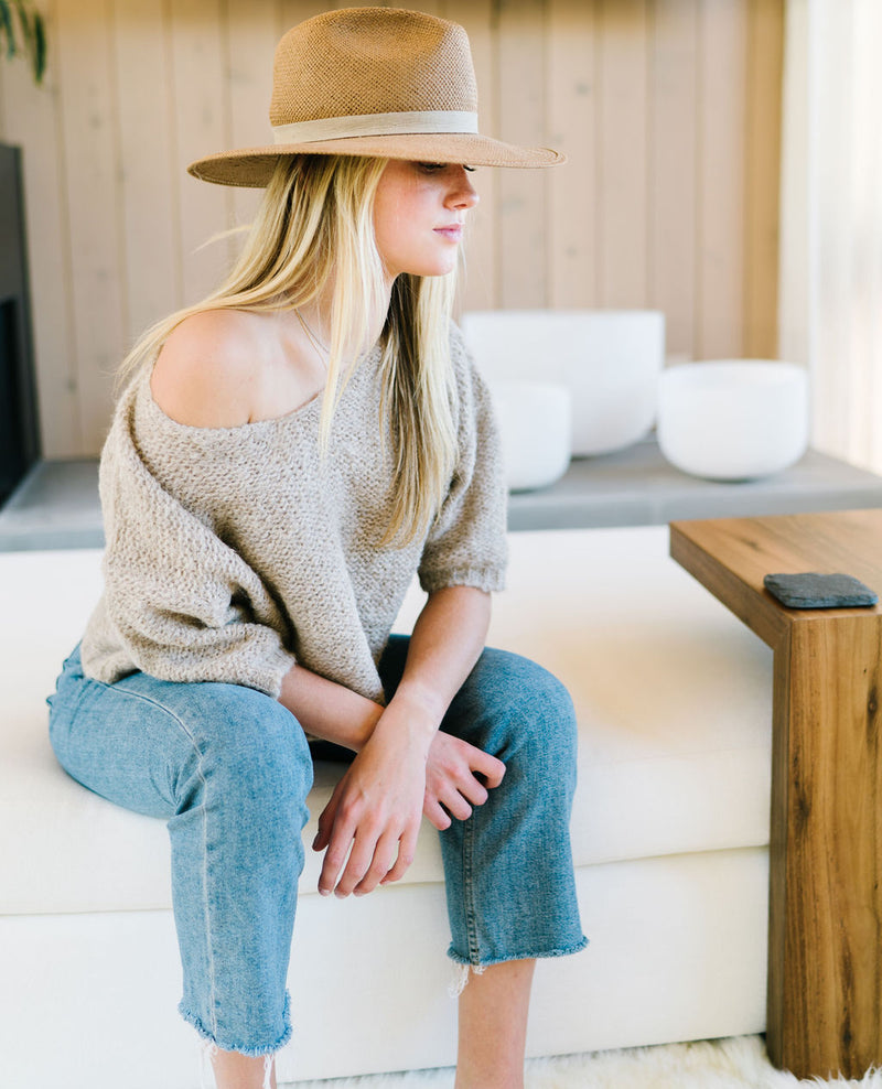 Oatmeal Nuna Brushed Sweater