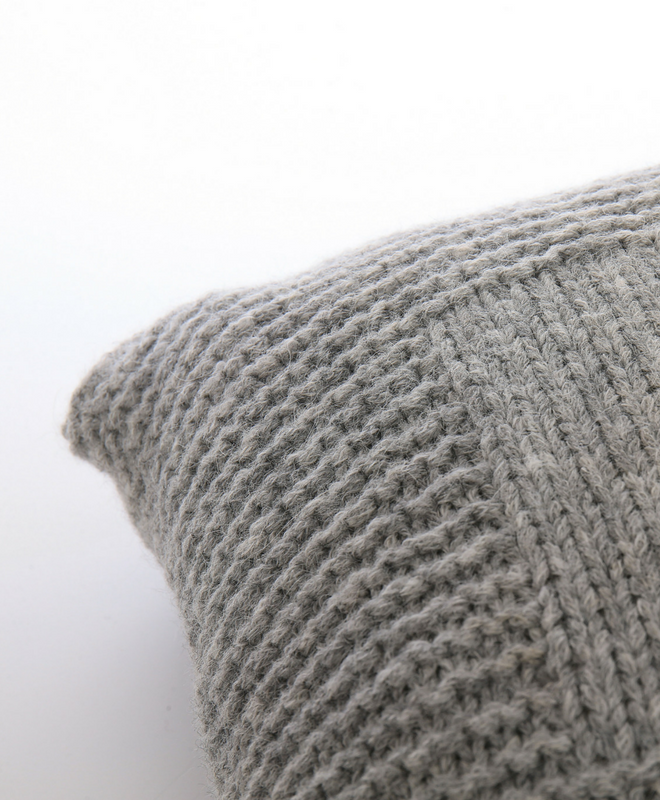 Abrazo Hand Knit Pillow Sefte Living Free Shipping In The Us