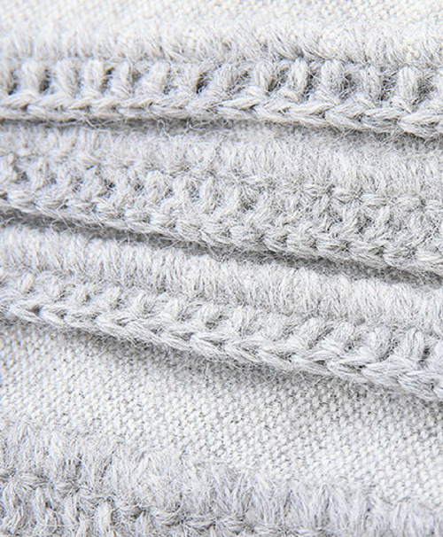 100% organic baby alpaca by Sefte Living. Our Camino Alpaca throw is made of the softest, brushed alpaca fabric and hand finished with a crochet border detail.