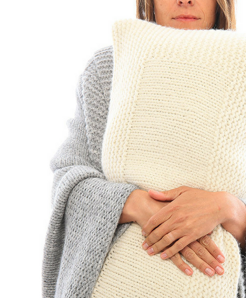 Abrazo Hand Knit Blanket Throw - Sefte