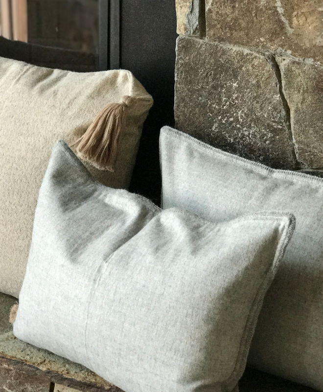Camino Brushed Organic Alpaca Pillows - Sefte