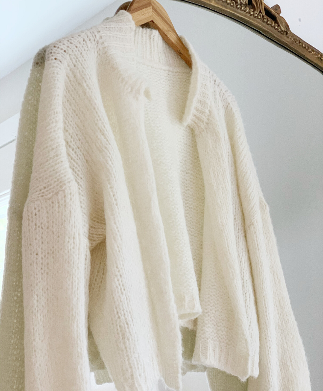 Nuna Cardigan in Cream - Sefte