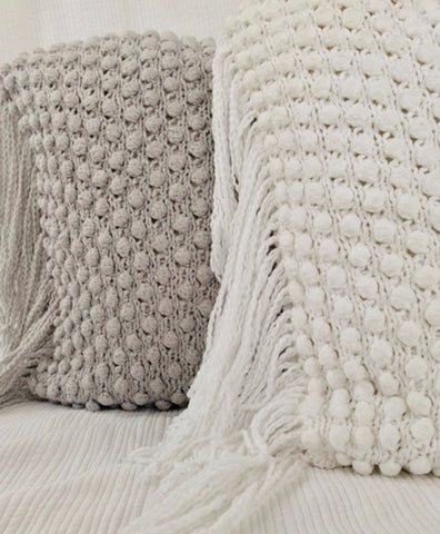 Uvas Crocheted Pillows