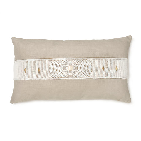 Lamu Nolari Pillow in Cream
