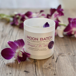 Pink Moon Manifestation Candles: Lunar Twilight - Sefte